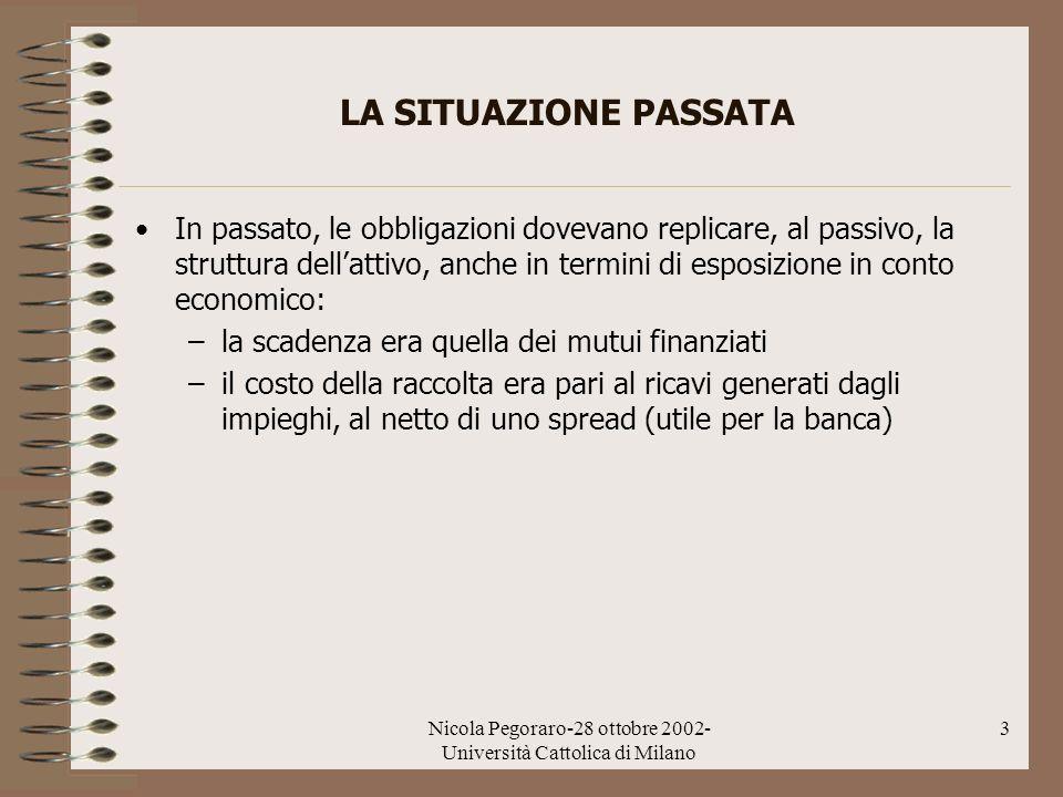 Nicola Pegoraro-28 ottobre 2002-Università Cattolica di Milano