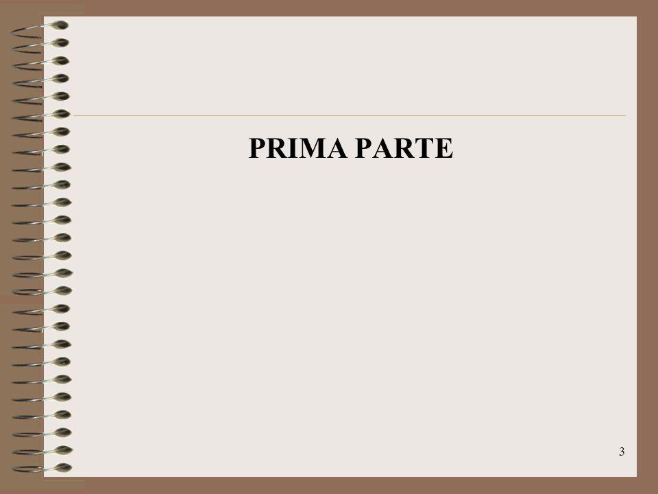 PRIMA PARTE