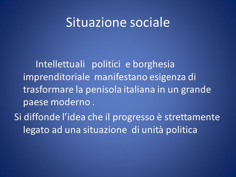 Situazione sociale