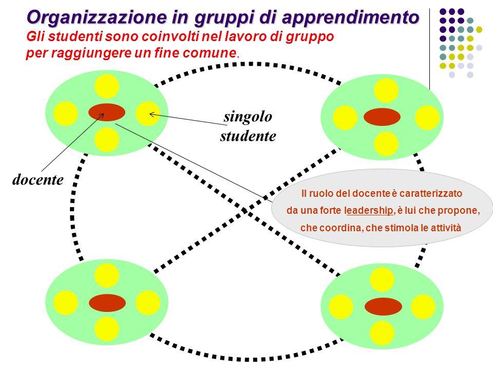 Organizzazione in gruppi di apprendimento