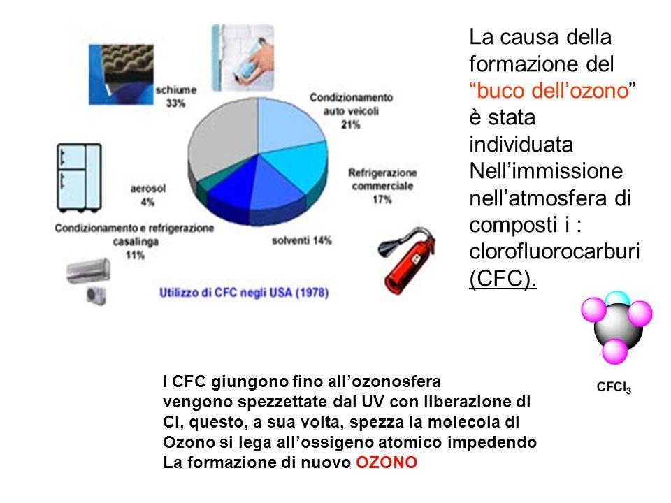 La causa della formazione del buco dell'ozono è stata individuata