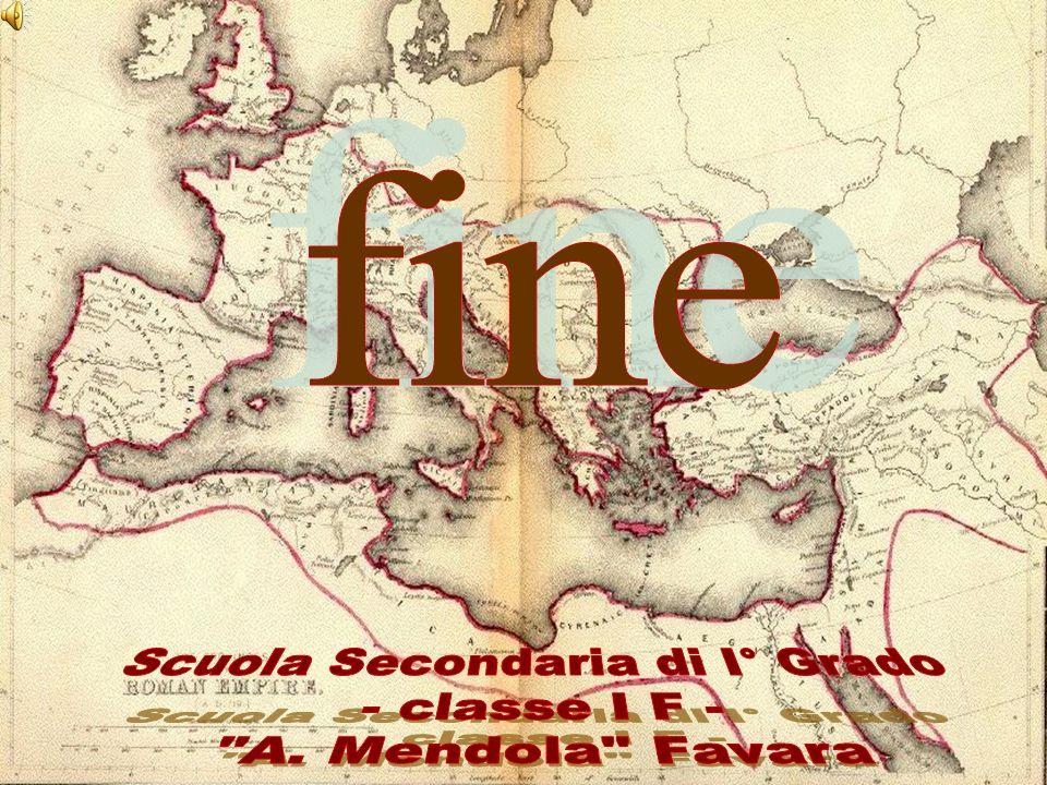 Scuola Secondaria di I° Grado - classe I F - A. Mendola Favara