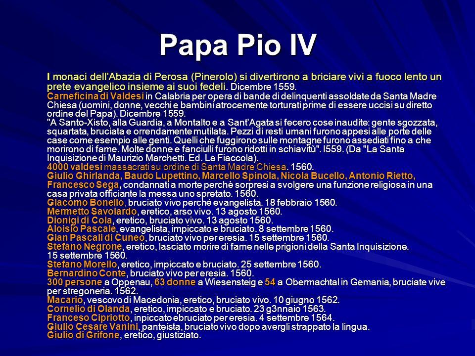 Papa Pio IV