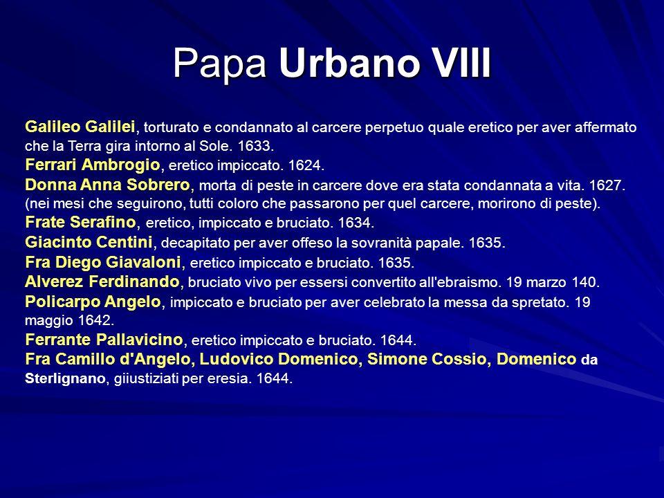 Papa Urbano VIII