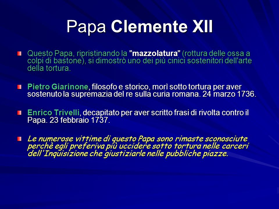 Papa Clemente XII