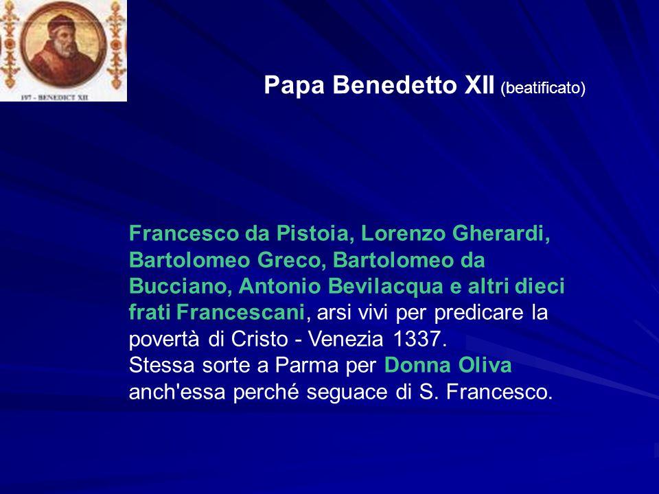 Papa Benedetto XII (beatificato)