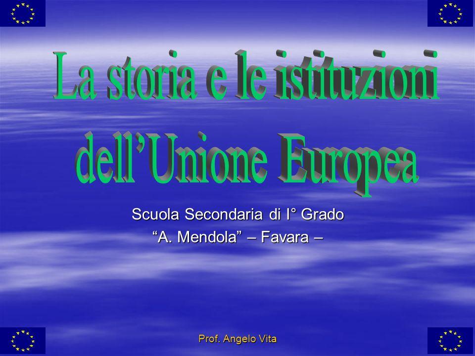 La storia e le istituzioni dell'Unione Europea