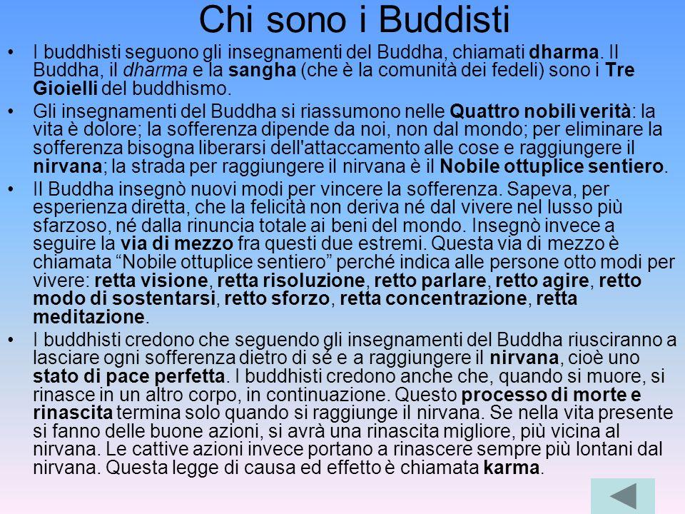Chi sono i Buddisti