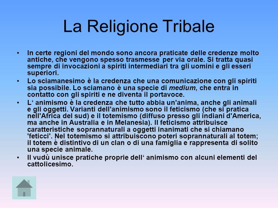 La Religione Tribale