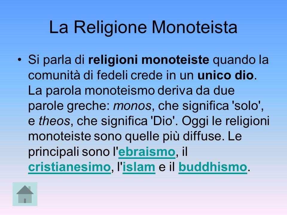 La Religione Monoteista