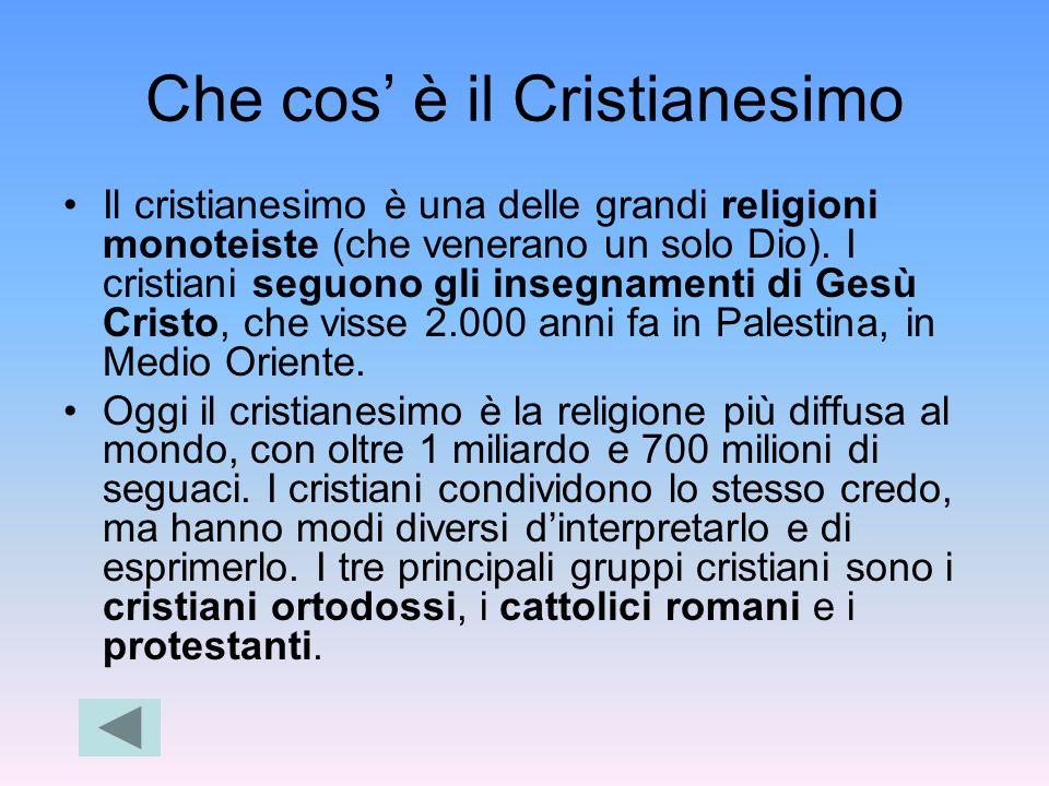 Che cos' è il Cristianesimo