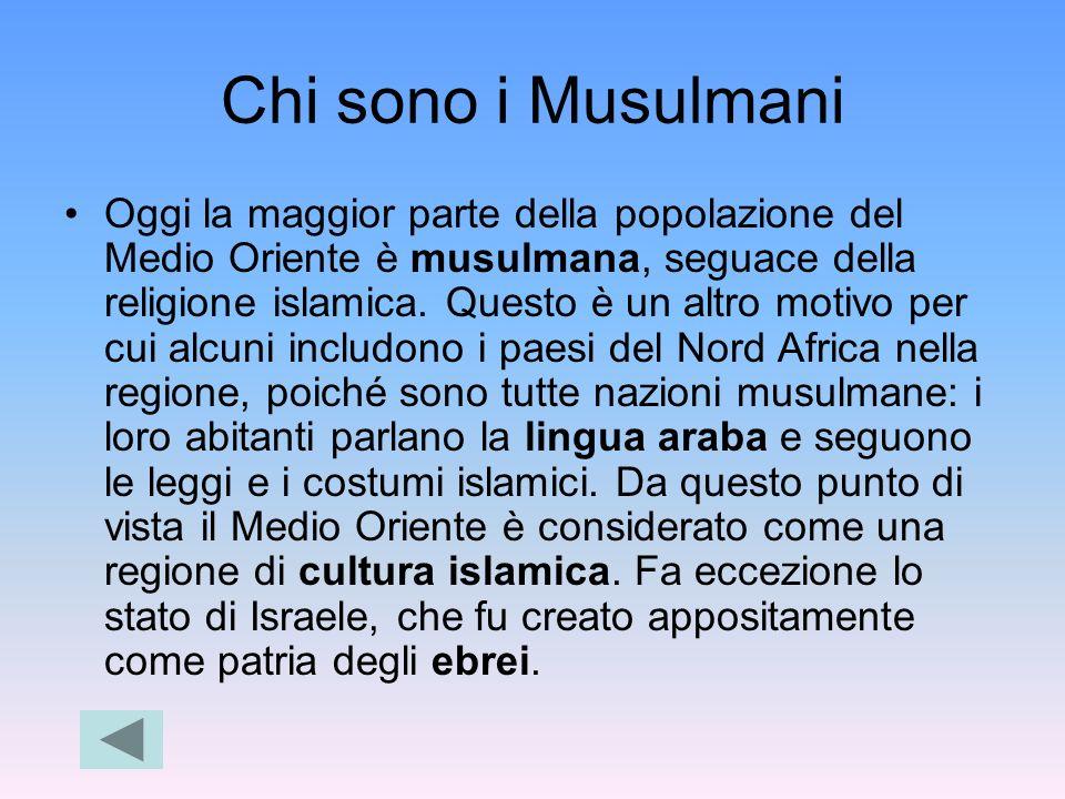 Chi sono i Musulmani