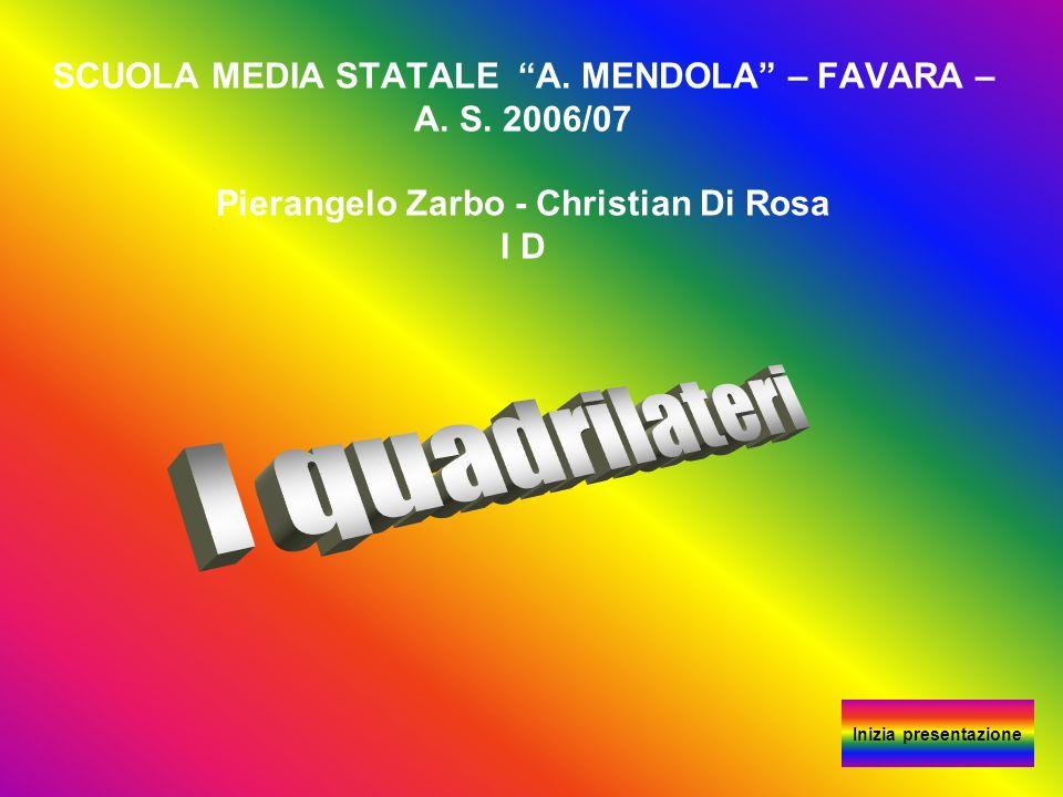 SCUOLA MEDIA STATALE A. MENDOLA – FAVARA – A. S