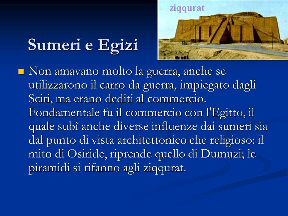 ziqqurat Sumeri e Egizi.
