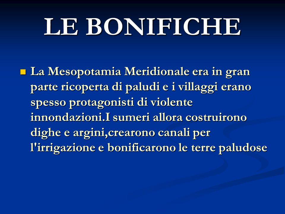 LE BONIFICHE