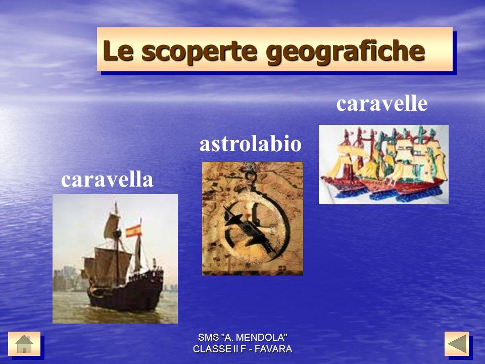 Le scoperte geografiche