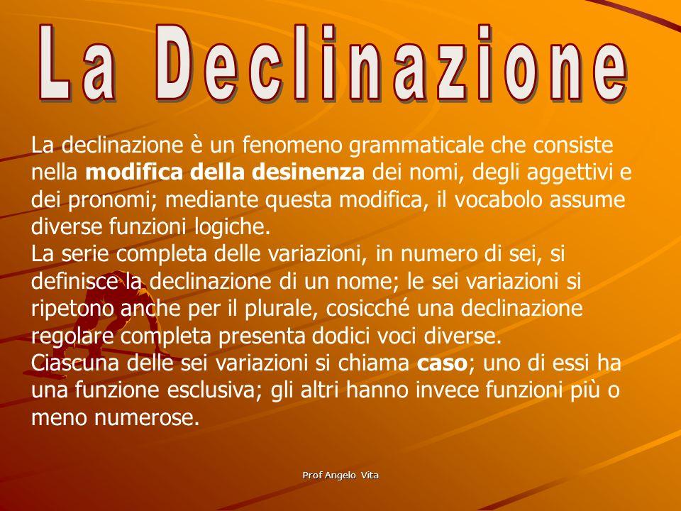 La Declinazione