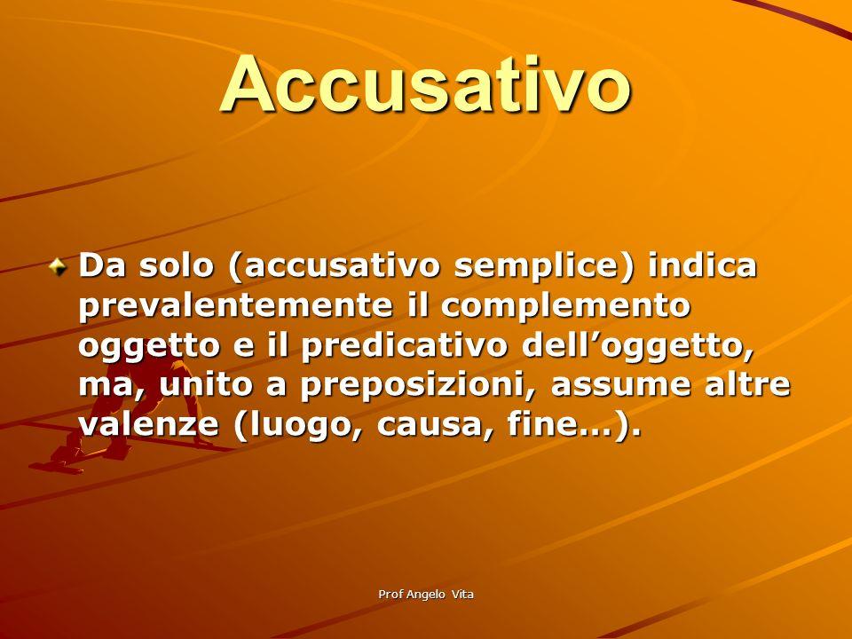 Accusativo