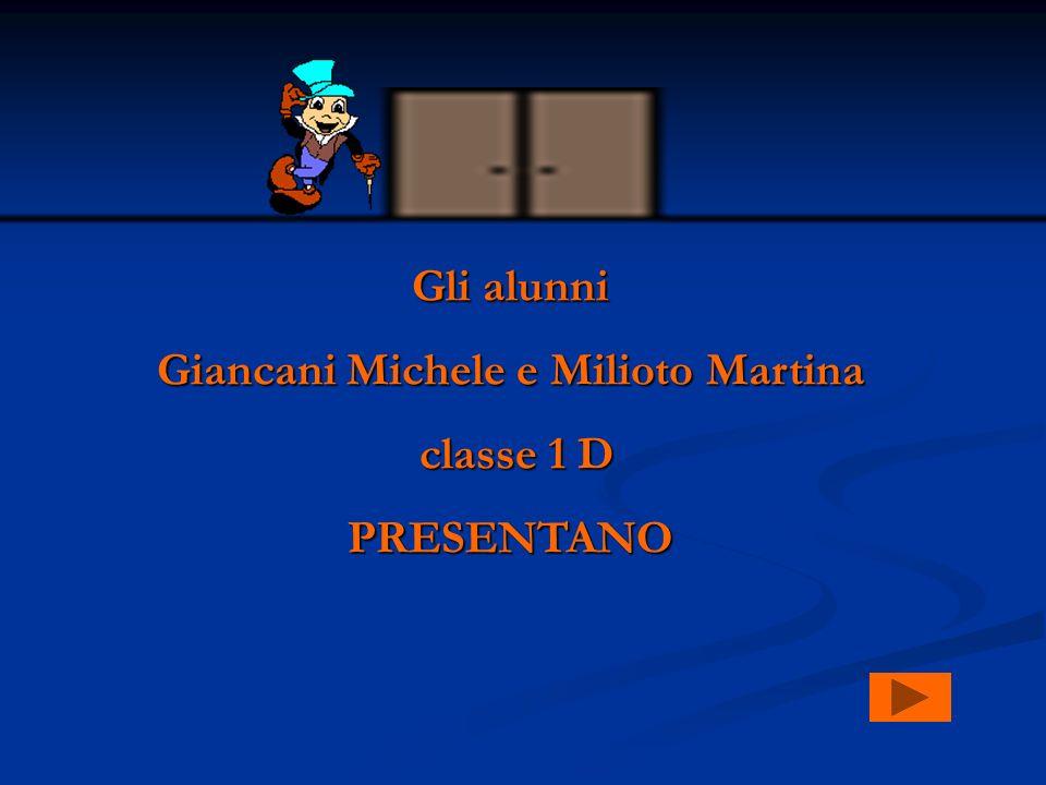 Giancani Michele e Milioto Martina