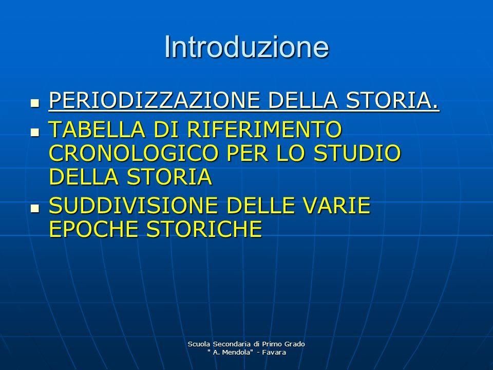 Scuola Secondaria di Primo Grado A. Mendola - Favara