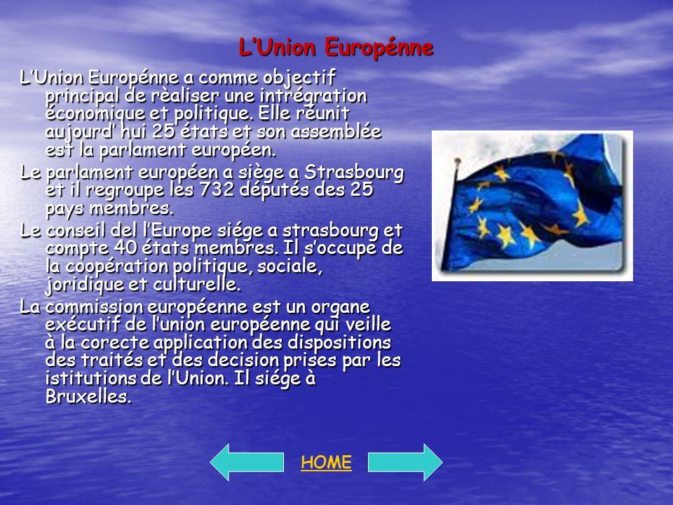 L'Union Europénne