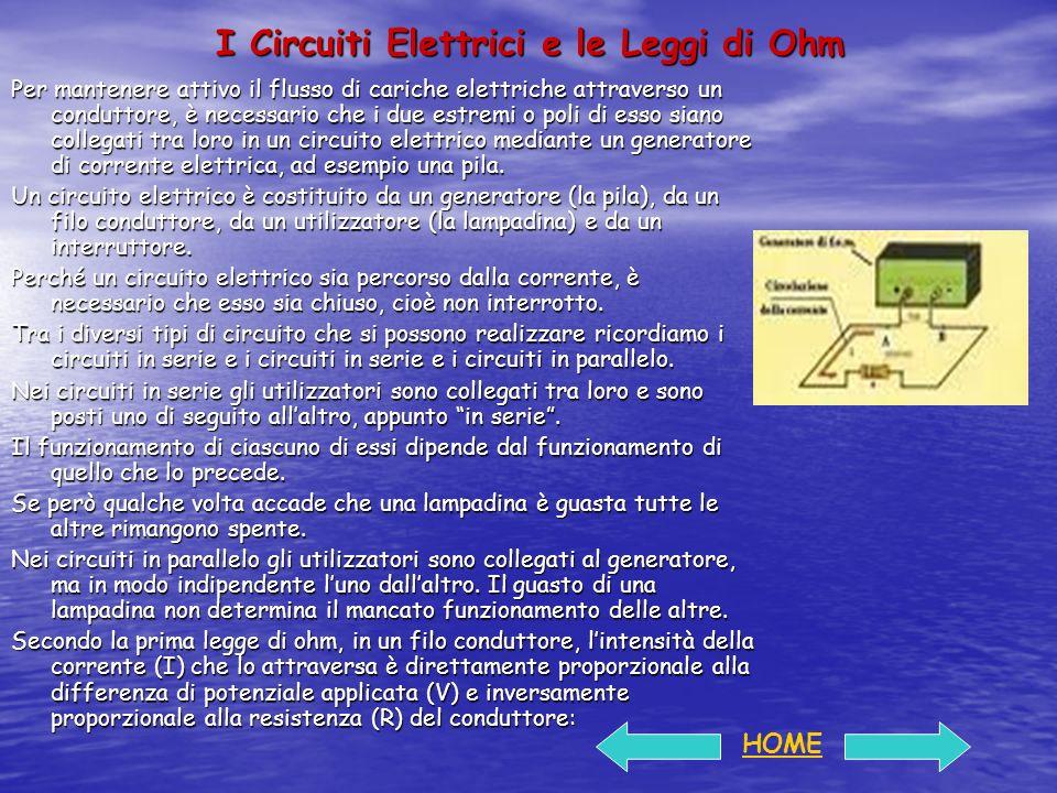 I Circuiti Elettrici e le Leggi di Ohm