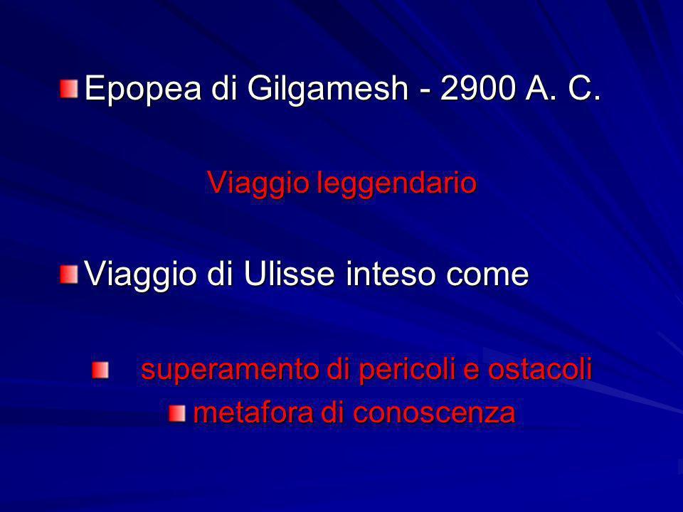 Epopea di Gilgamesh - 2900 A. C.