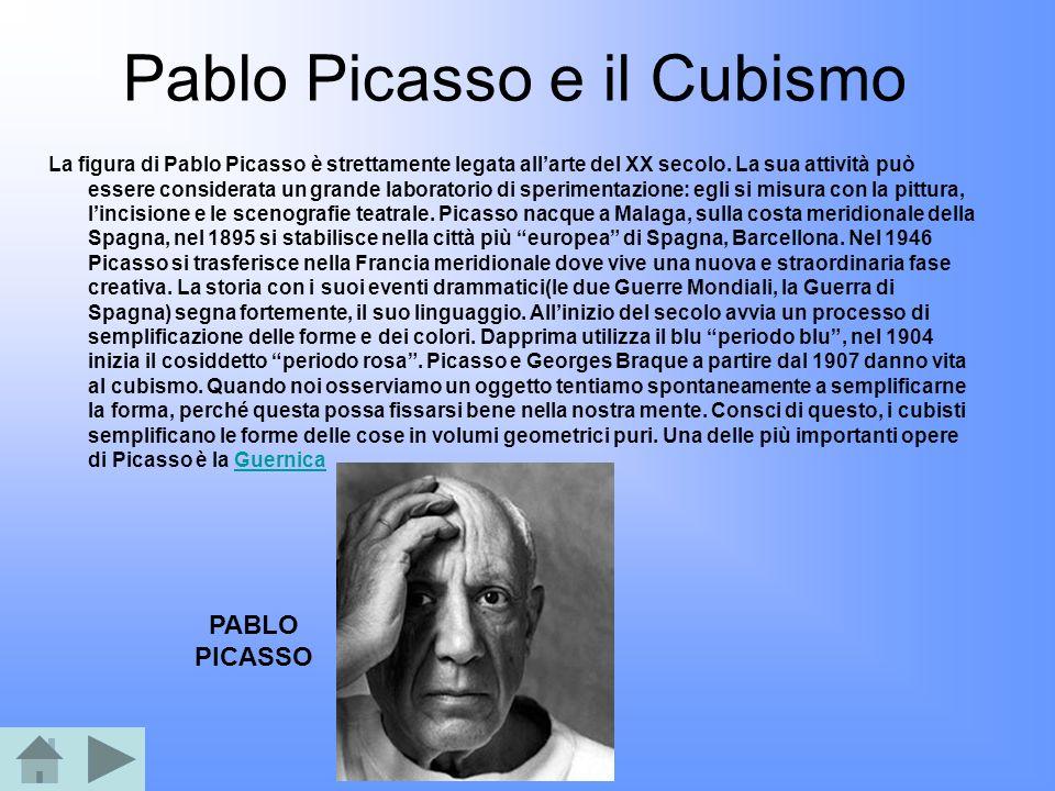 Pablo Picasso e il Cubismo