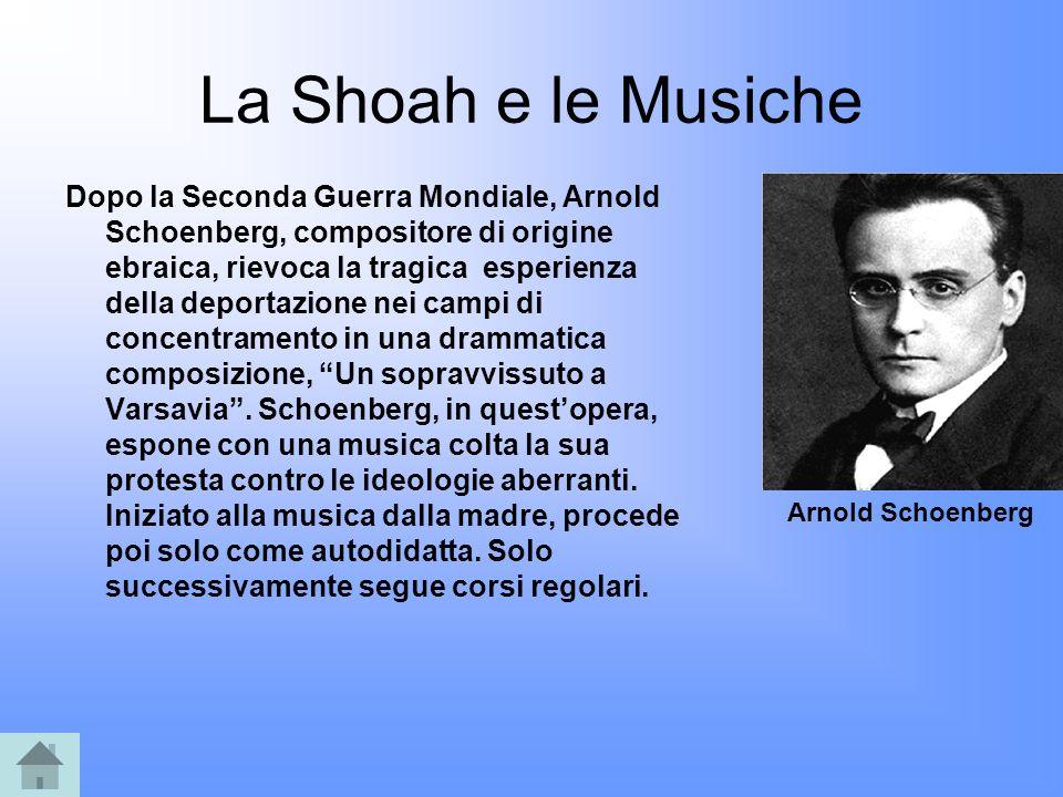 La Shoah e le Musiche