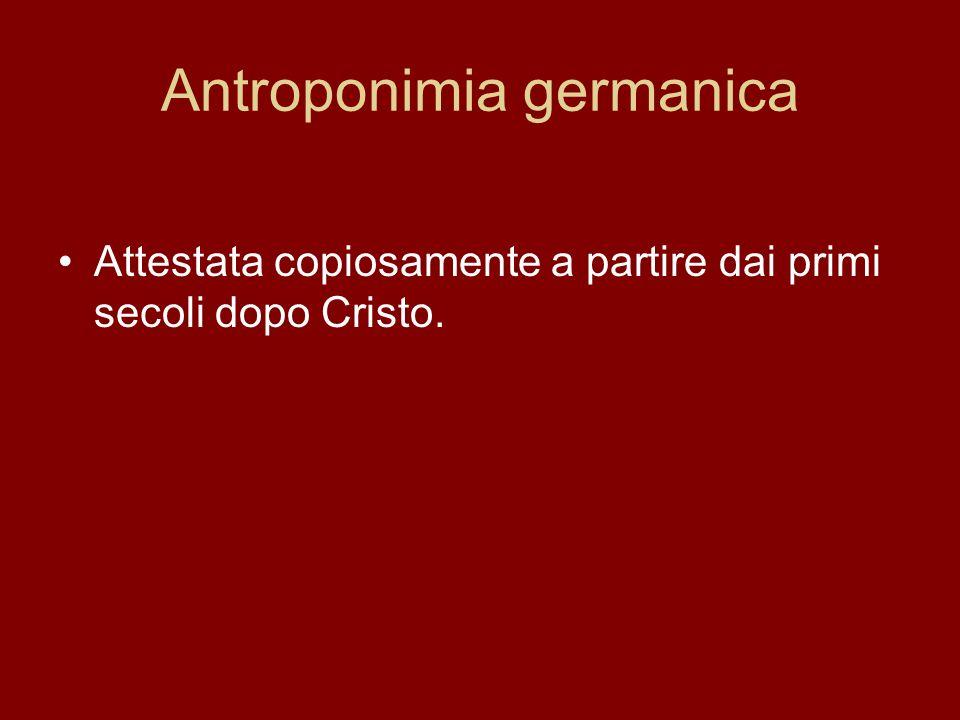 Antroponimia germanica