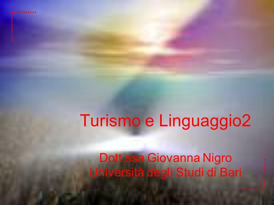 Turismo e Linguaggio2 Dott