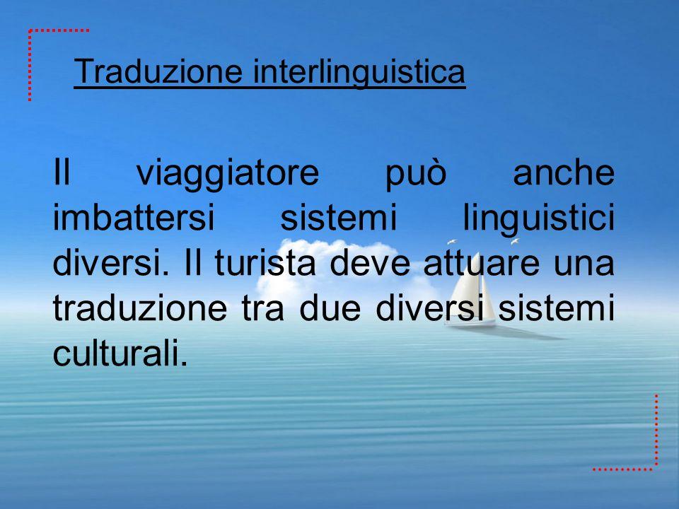 Traduzione interlinguistica