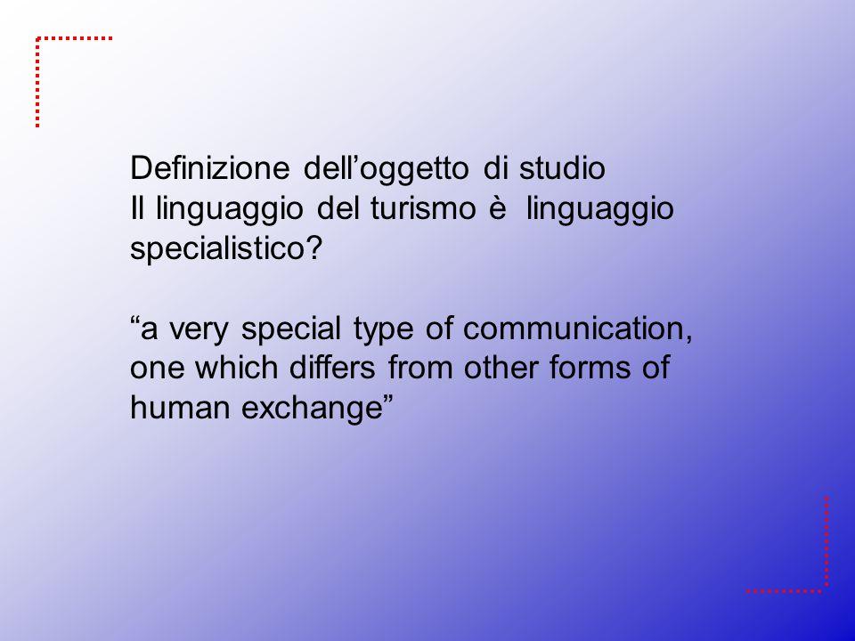 Definizione dell'oggetto di studio