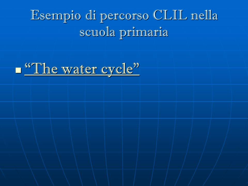 Esempio di percorso CLIL nella scuola primaria