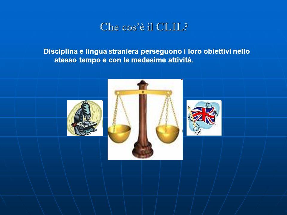 Che cos'è il CLIL.
