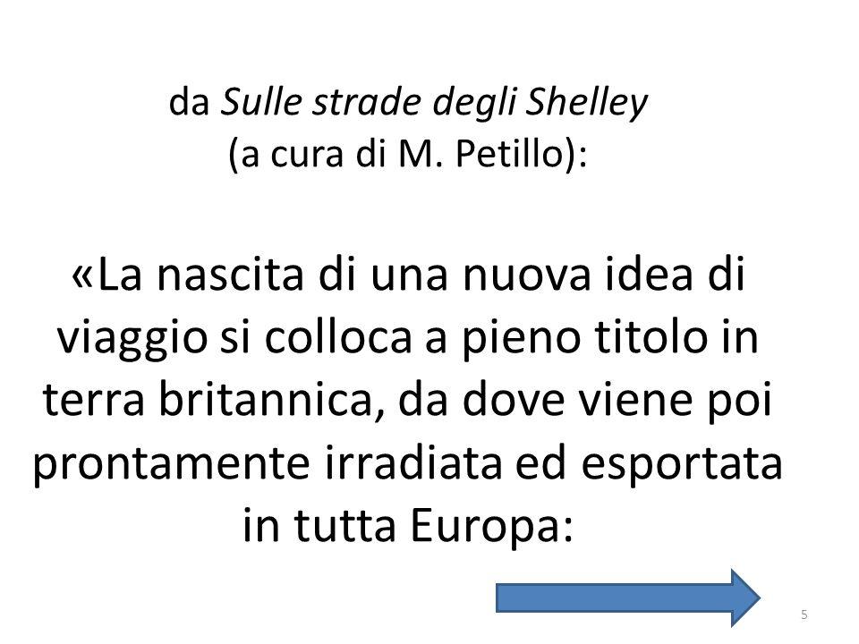 da Sulle strade degli Shelley (a cura di M