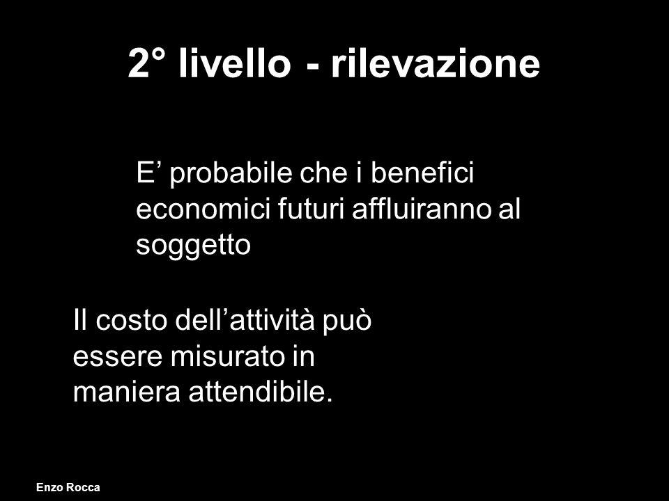 2° livello - rilevazione
