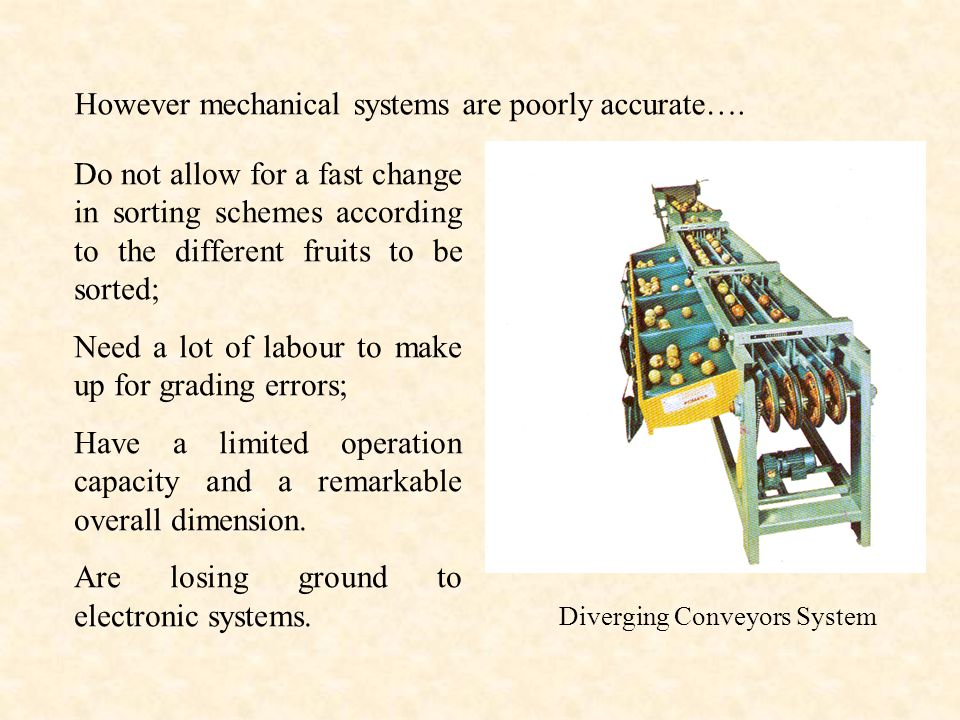 However mechanical systems are poorly accurate….