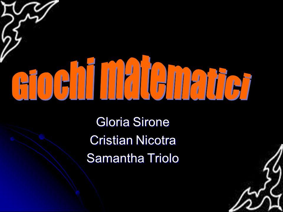 Gloria Sirone Cristian Nicotra Samantha Triolo