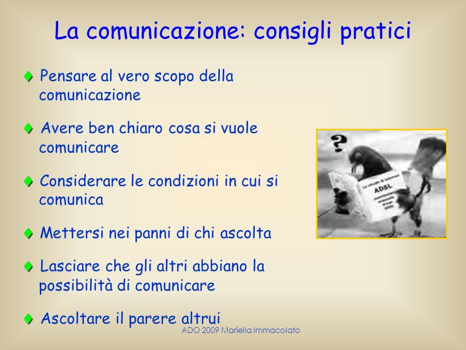 La comunicazione: consigli pratici