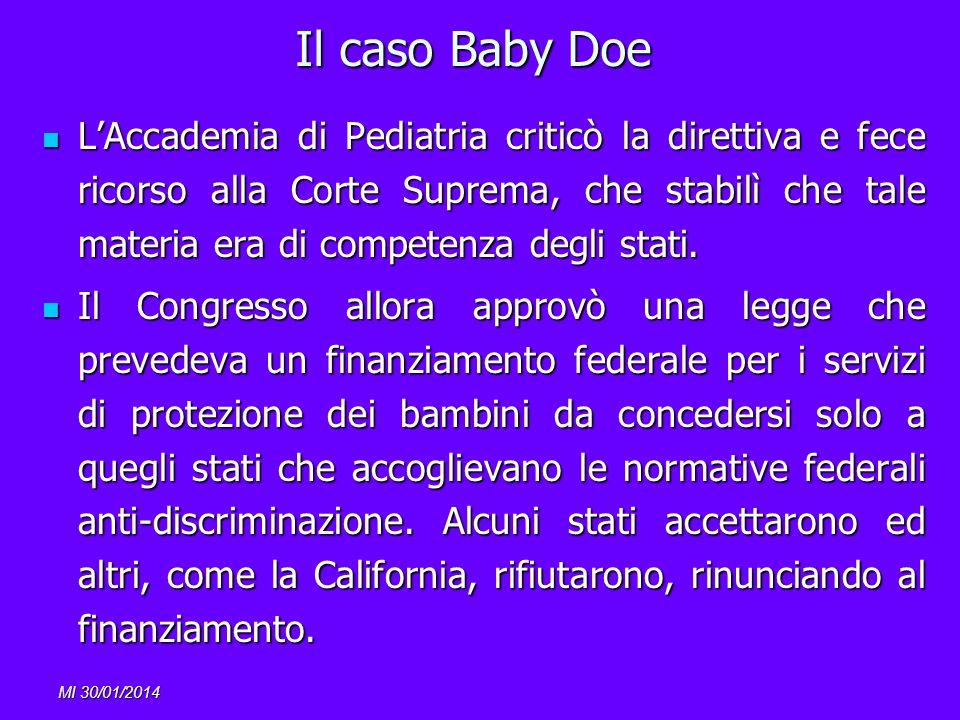 Il caso Baby Doe
