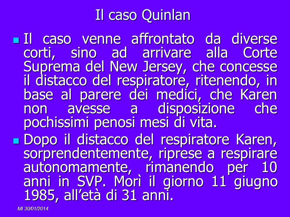 Il caso Quinlan