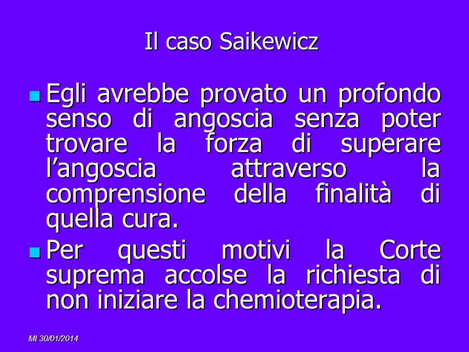 Il caso Saikewicz