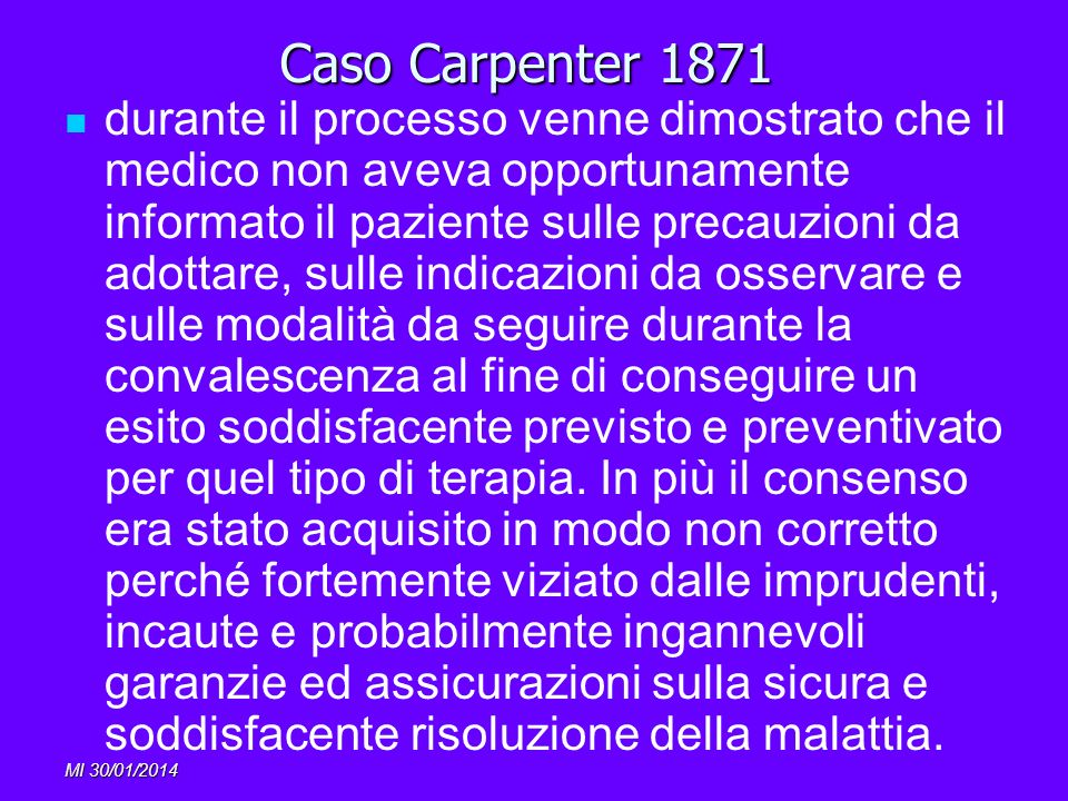 Caso Carpenter 1871