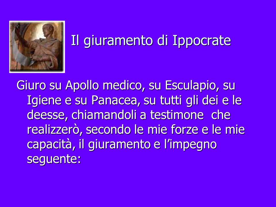 Il giuramento di Ippocrate
