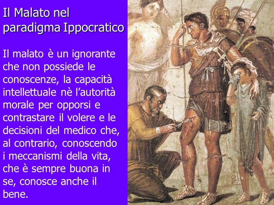 Il Malato nel paradigma Ippocratico