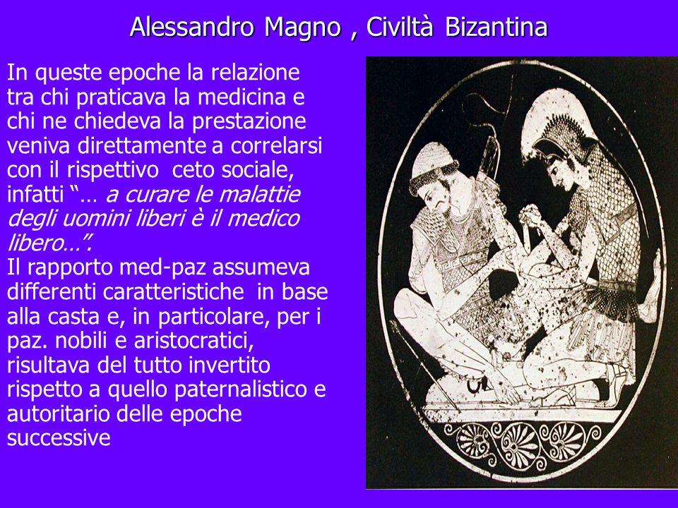 Alessandro Magno , Civiltà Bizantina