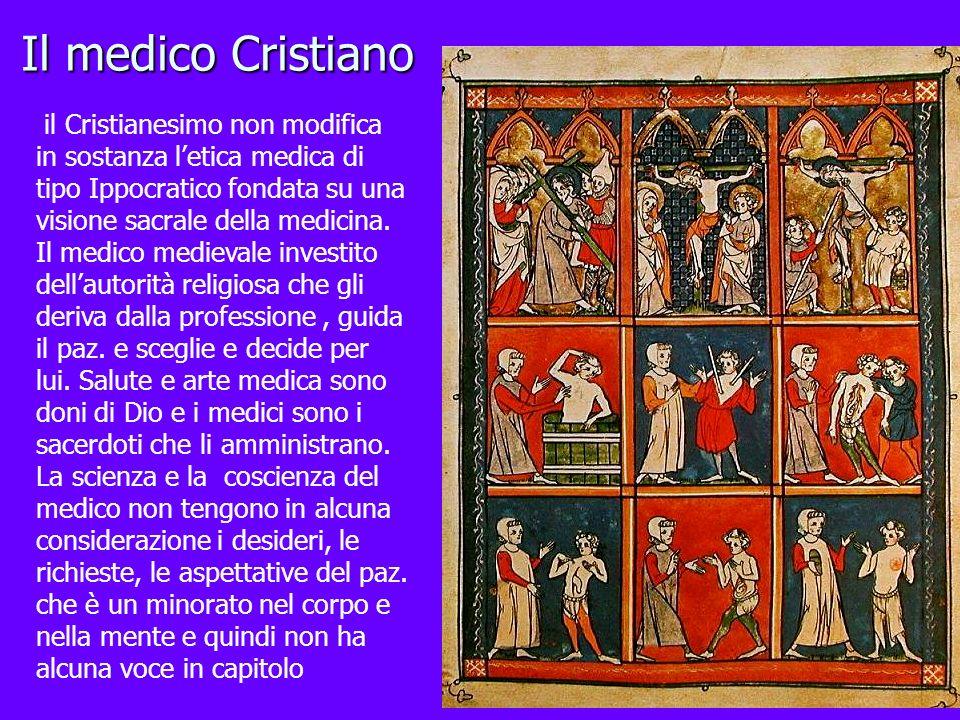Il medico Cristiano il Cristianesimo non modifica
