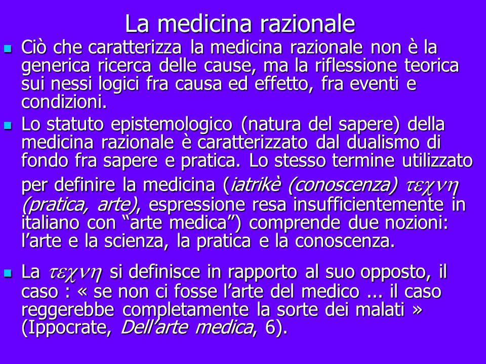 La medicina razionale