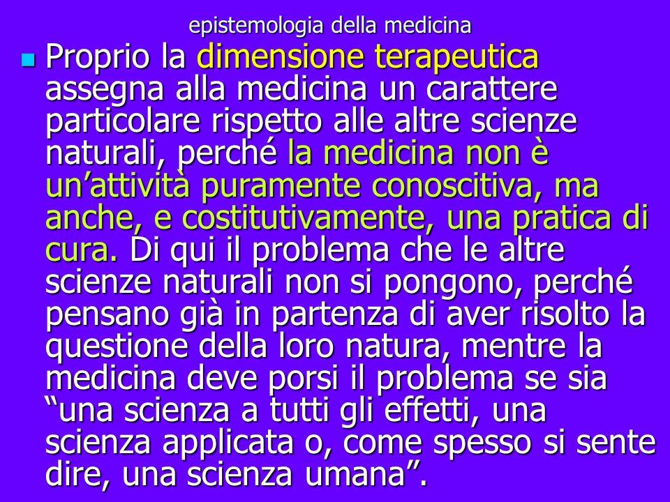 epistemologia della medicina